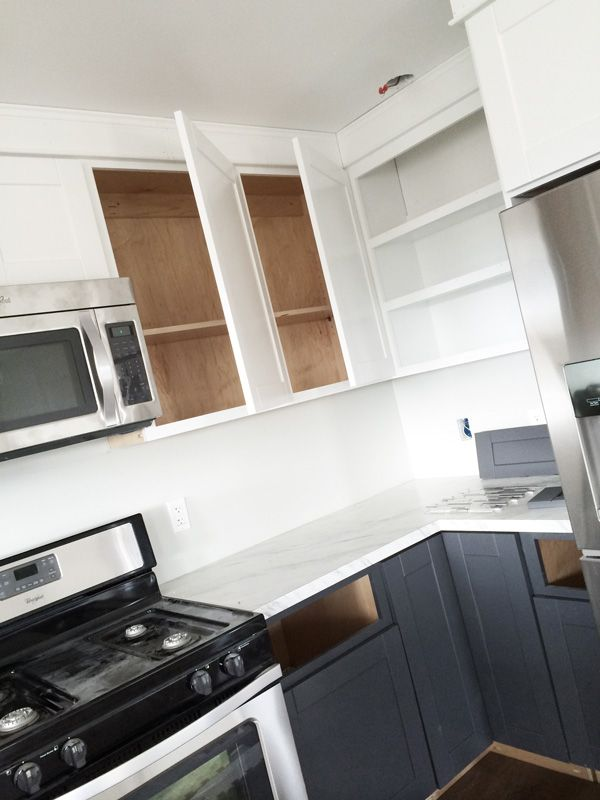 Ana white build a 45 wall kitchen cabinet free and for Ana white kitchen cabinets