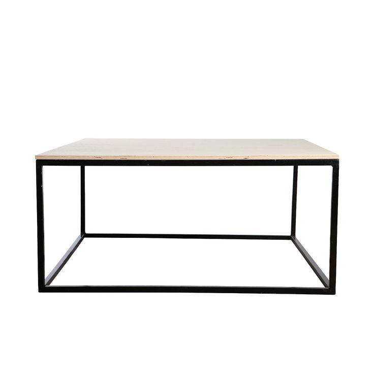 House Doctor Table legs 100x100cm, Black £192. - RoyalDesign.co.uk