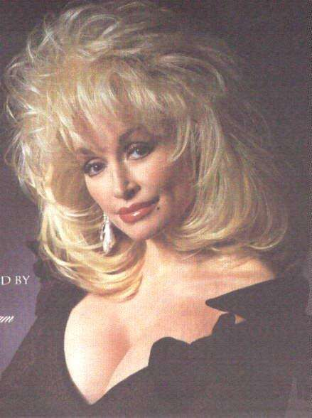 It's easy to focus on Dolly Parton's chest. Description from retrocrush.com. I searched for this on bing.com/images