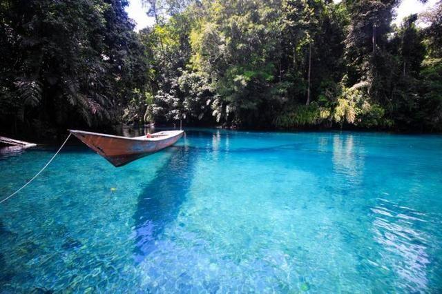 7 Tempat Wisata Kalimantan Timur Yang Jarang Terekspos Danau Kalimantan Pemandangan