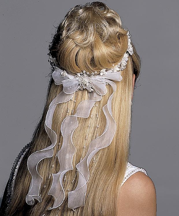 RENKLİ DÜNYALI: Gelin saçı ve duvak modelleri