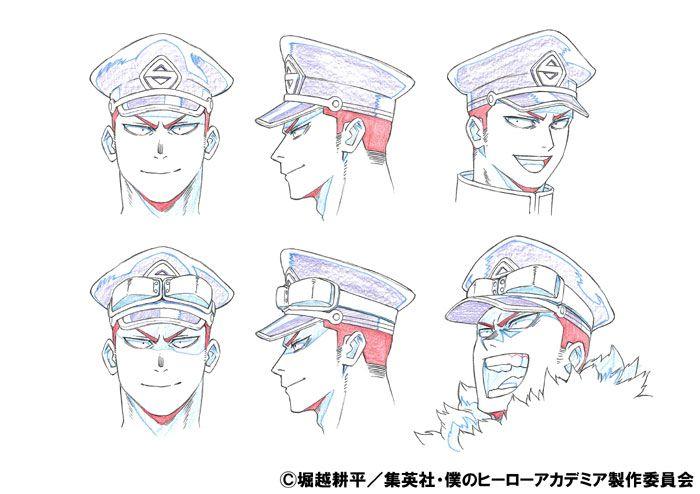 夜嵐イナサ 設定画 character design character design references book art