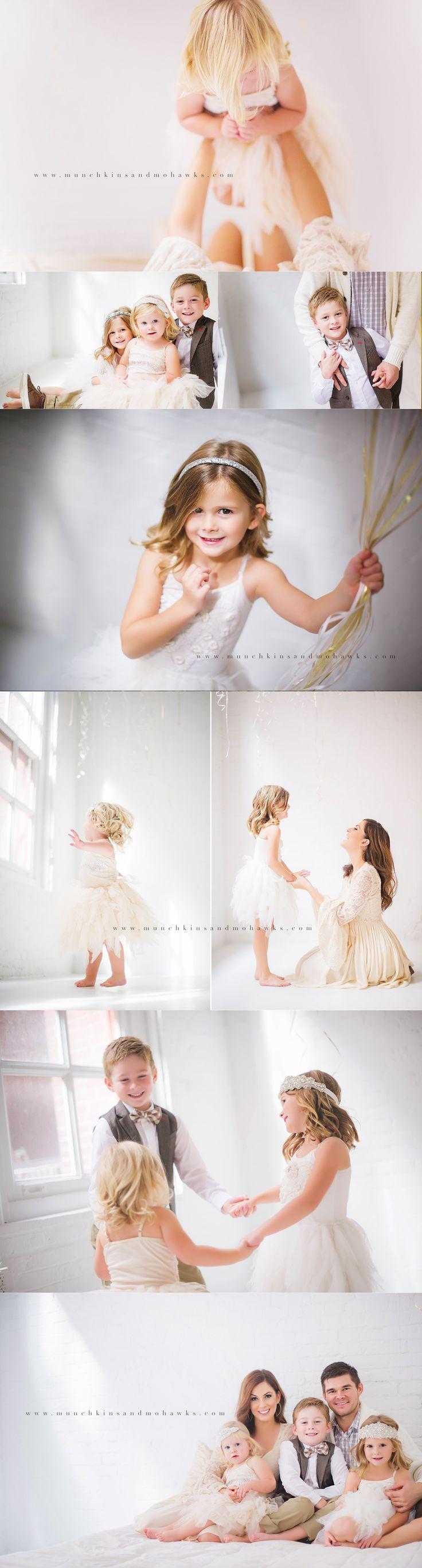 Sunday Smiles   Pittsburgh's Best Family Photographer studio photography all white studio family photos