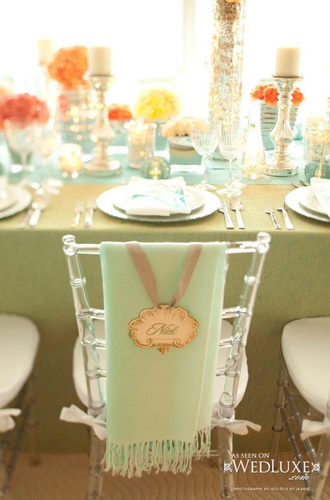 Style File: Aquarelle - Part 1: Decor | WedLuxe Magazine