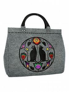 GOSHICO embroidered bowling bag FOLK ART http://www.mybags.co.uk/goshico-embroidered-bowling-bag-folk-art.html