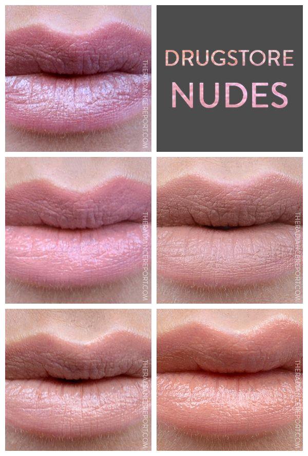 Farmacia muestras lápiz labial desnudo