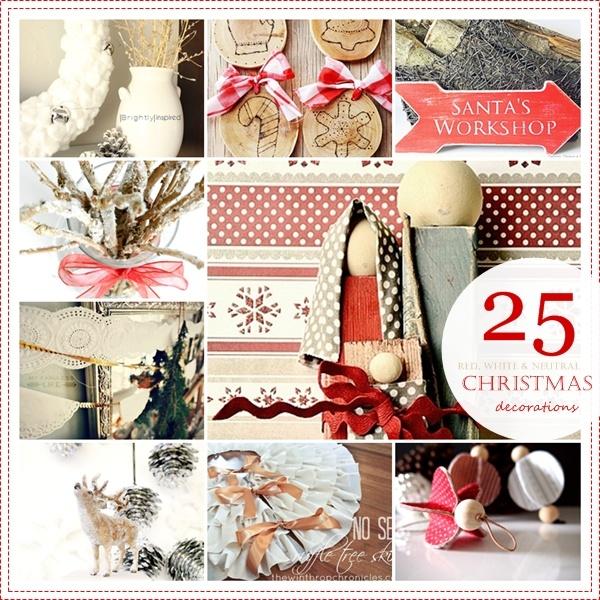 25 Beautiful and Unique DIY Christmas Decorations. Pretty!: Christmas Crafts, 25 Handmade, Diy Crafts, Christmas Ideas, The36Thavenue Com, 25 Diy, Handmade Christmas Decorations, Diy Christmas Decorations, 36Th Void