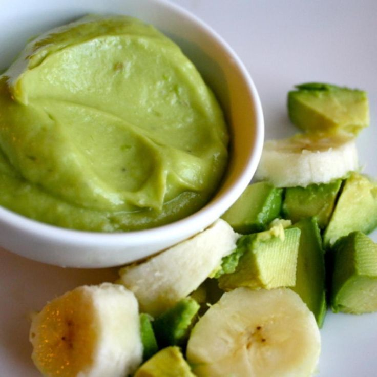 My son is 4 and is currently on a feeding tube. We are in search of some high calorie puree's for him to take by mouth hoping to get rid of the feeding tube soon! I discovered that Avocado's have a natural source of high calories and are good for him. I chose to mix it with banana because the textures are about the same and because my son prefers sweet flavors over any others.