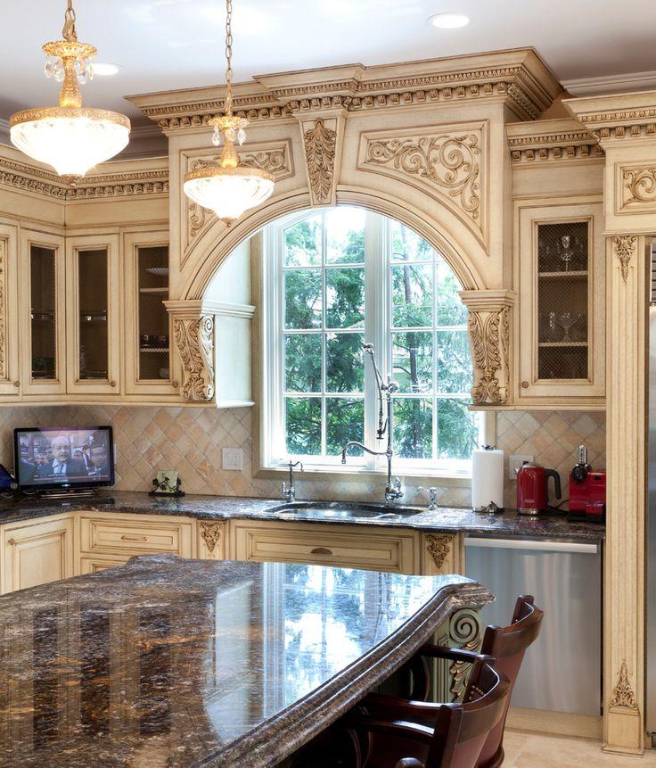 этого кухни классика с окном фото место чтобы