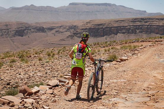 TITAN DESERT RACE - STAGE 4 | 6-Day Titan Desert race in Morocco - Stage 4.