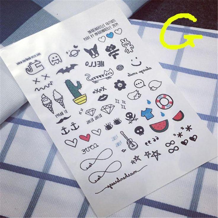 Купить товар2016 Бросился Горячая Продажа Мужчины Татуировки Водонепроницаемый Временные Татуировки Наклейки Симпатичные Pattern Мультфильм Конструкции Стилизация Инструмент Кактус Пункт в категории Временные татуировкина AliExpress. Hot 6Colors Brushe Cleaning Makeup Washing Brush Silica Glove Scrubber Board Cosmetic Clean Tools Free Shipping Made bea