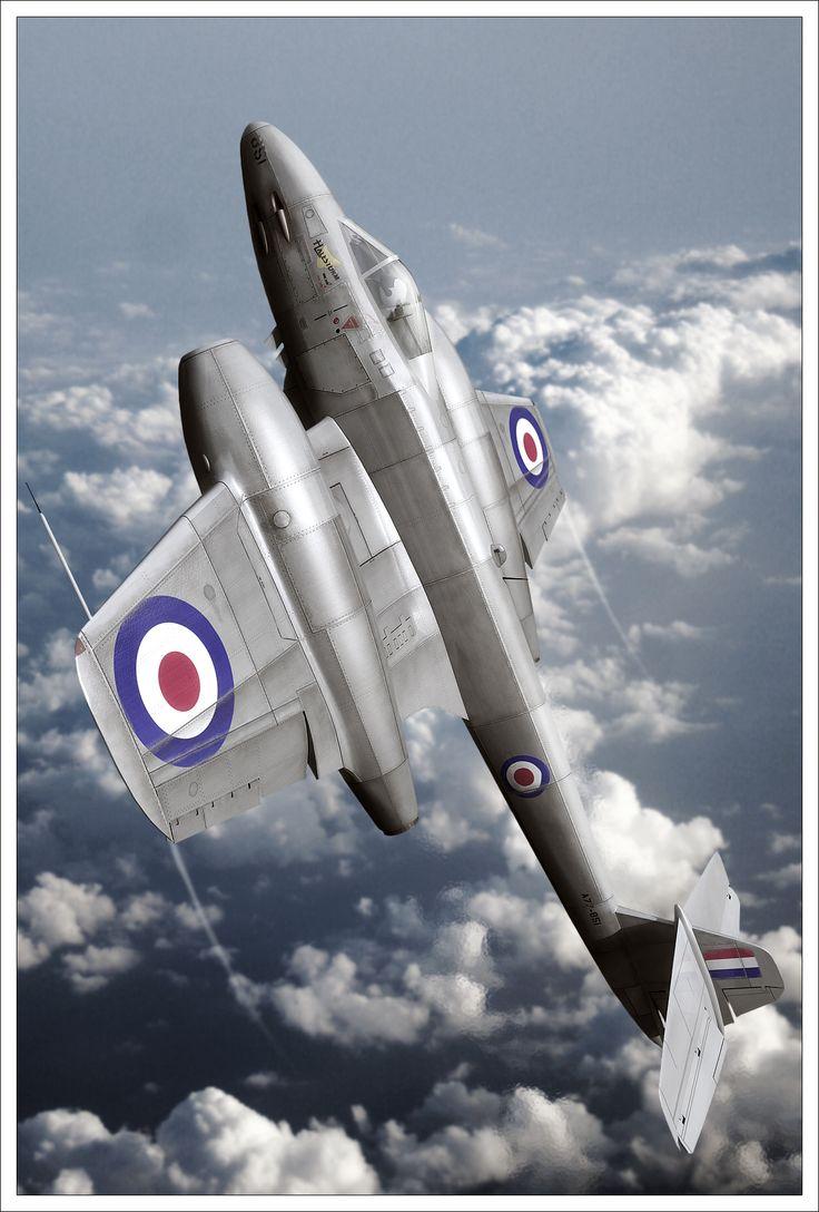"""Gloster Meteir """"Halestorm"""" - nice digital 3D rendering (by robfleet on deviantART)"""