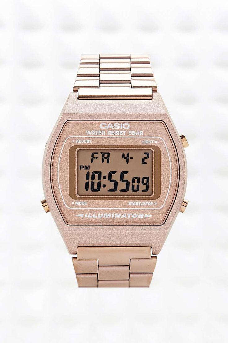 Casio Digital Watch in Bronze