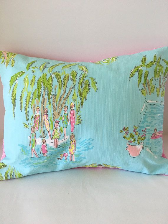 Lilly Pulitzer Throw Pillows February 2017