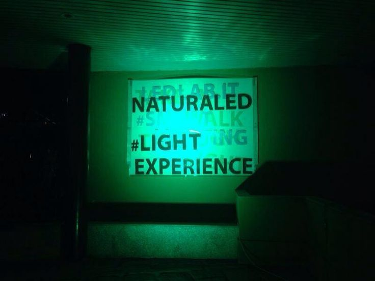 The power of led by night! #naturaled #lightexperience #milandesignweek  #venturalambrate