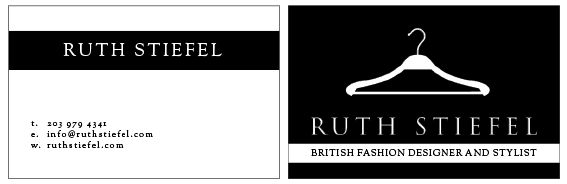 15 best my business card designs images on pinterest business card ruth stiefel british fashion designer stylist card designsbusiness colourmoves