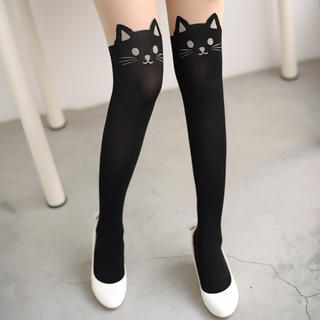 Buy '59 Seconds – Cat Print Tights' with Free International Shipping at YesStyle.com. Browse and shop for thousands of Asian fashion items from Hong Kong and more!