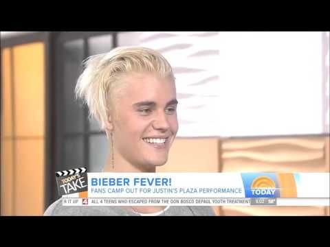 Justin Bieber Today Show Interview - September 10, 2015 - YouTube