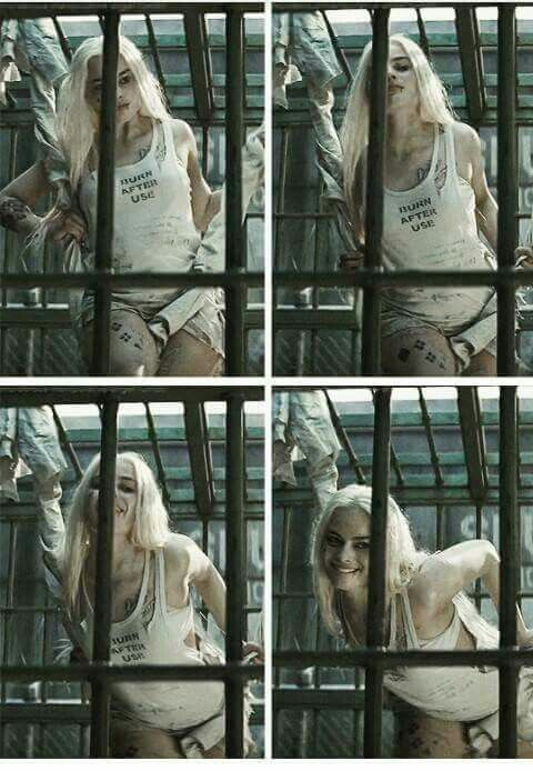 Harley Quinn in suicide squad.