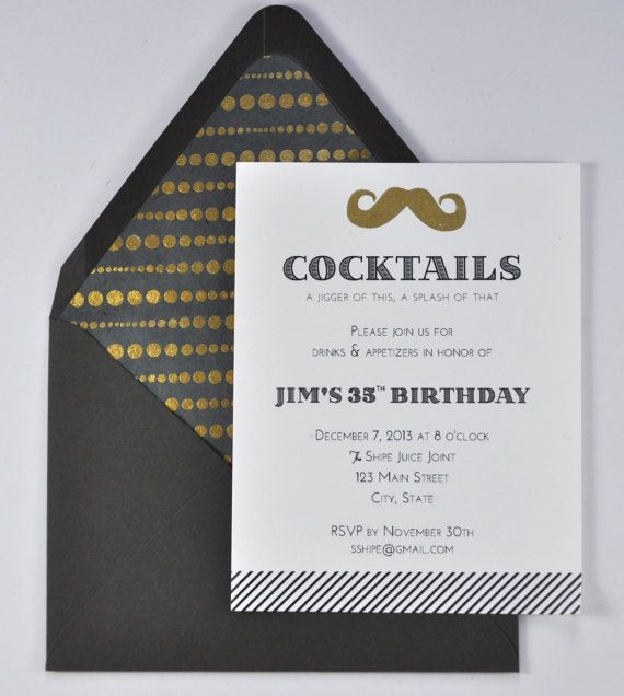 30 best images about Cocktail Invitations – Party Invitation Envelopes