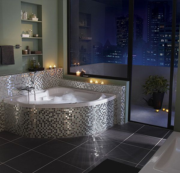 10 baignoires qui en jettent photos angles et merlin. Black Bedroom Furniture Sets. Home Design Ideas
