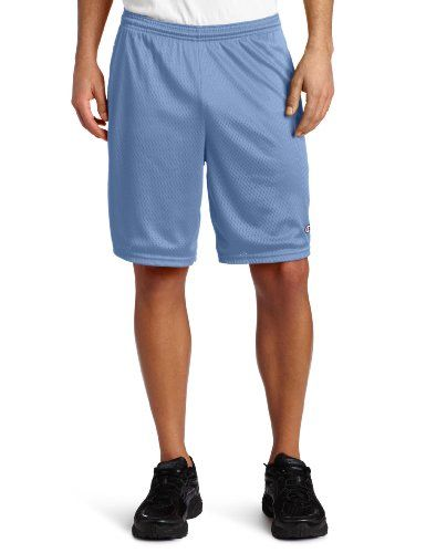 Champion Men's Long Mesh Short With Pockets.