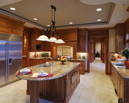 Beautiful Traditional Kitchen Designs 90 best cherry color kitchens images on pinterest | pictures of