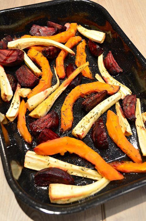 Geroosterde groente uit de oven - Uit Pauline's Keuken