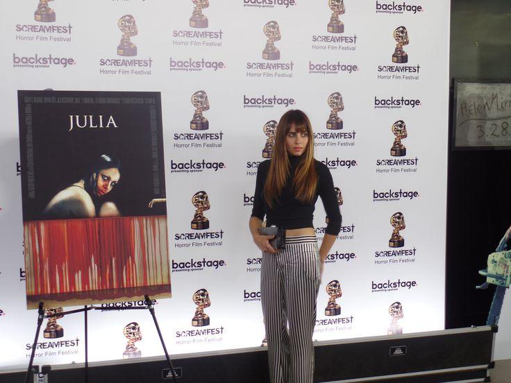 Ashley C. Williams Julia premiere Screamfest 2014