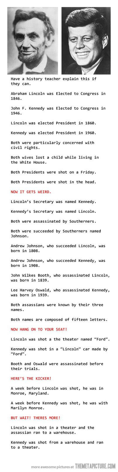 Mind blowing coincidences… so glad I found this, I heard about it