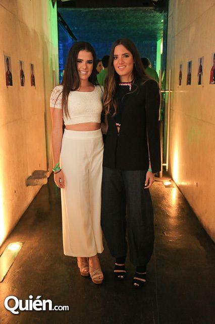 Camila Fernández y América Fernández en el coctel del Club Atlas