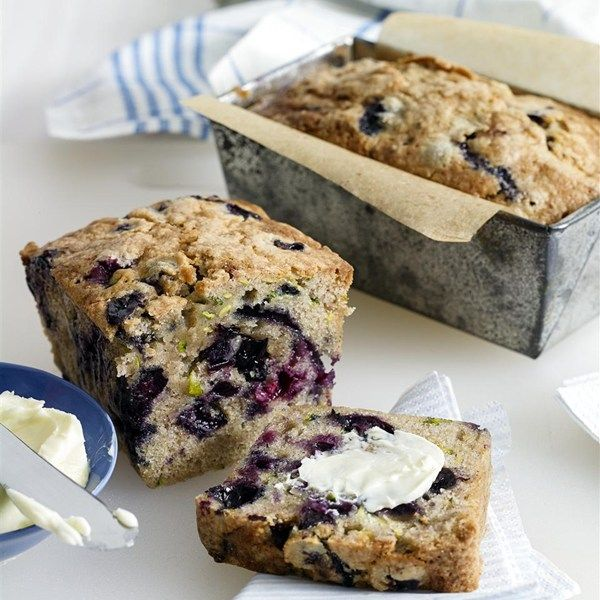 "Blueberry Zucchini Bread I ""This recipe was so good! I had zucchini and blueberries that I needed to use, and this was perfect. My family ate it up."""