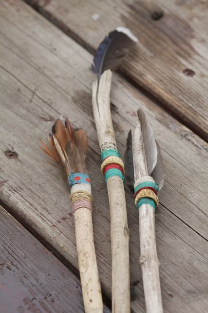 indian feathers color inspiration