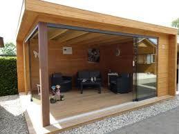 Afbeeldingsresultaat voor glazen deuren overkapping tuin