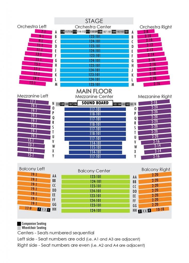 Smart Financial Seating Chart
