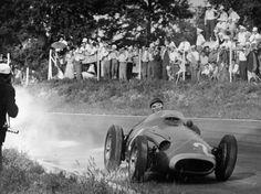 Juan Manuel Fangio con Maserati