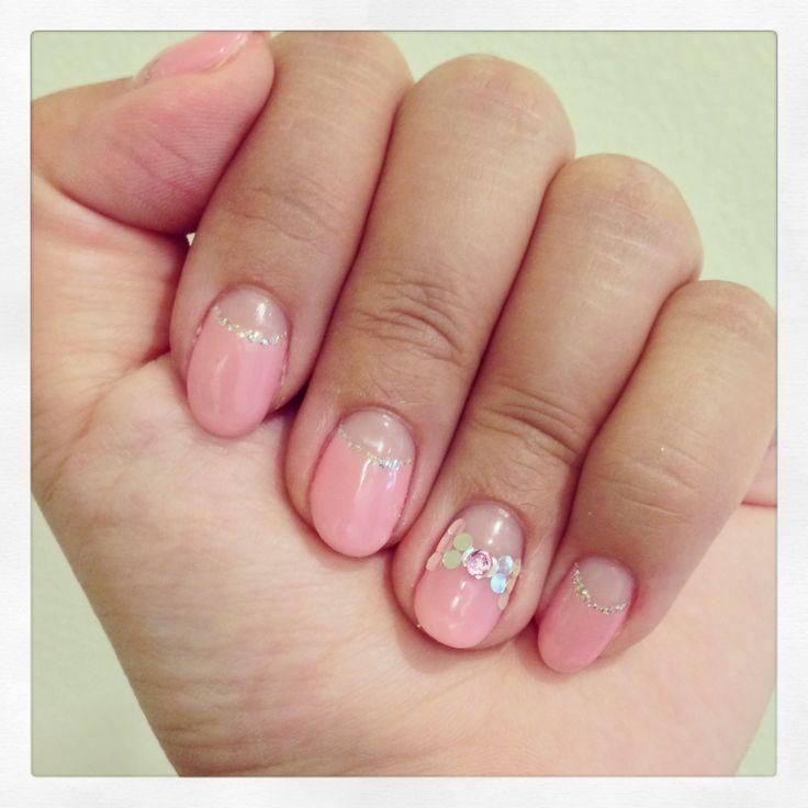 Cal Gel Nail: 17 Best Calgel Nails Images On Pinterest