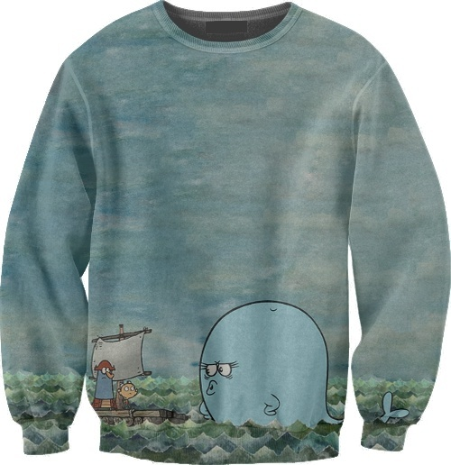 The Marvelous Misadventures Of Flapjack Bubbie, Flapjack & K'nuckles sweatshirt