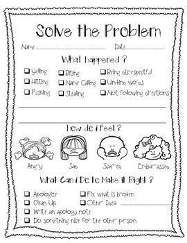It is a picture of Clean Restorative Justice Printable Worksheets