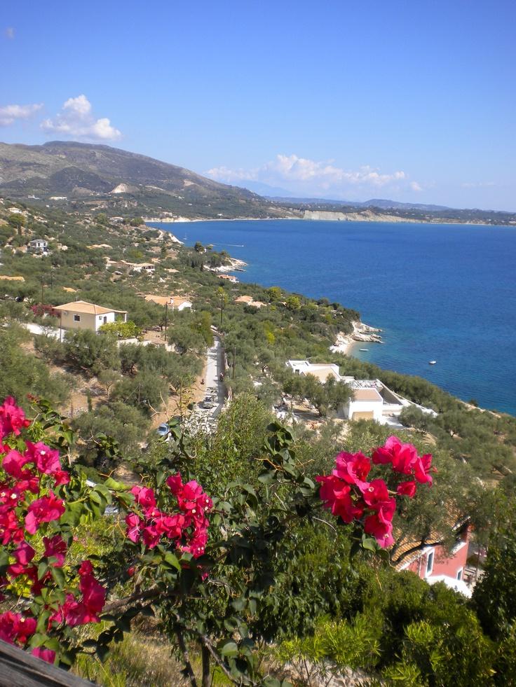 View from hotel (Zakynthos)