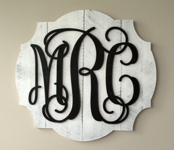 Personalized Pallet Wood Vine Monogram Word Art Cutout 3D Wood Monogram by mrcwoodproducts on Etsy https://www.etsy.com/listing/230619095/personalized-pallet-wood-vine-monogram