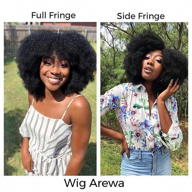You can not talk to me anyhow!! in Chizi Duru s voice   How are you rocking your Wig Arewa. Team Full Fringe or Side Fringe?   Available in color 1 2 ...