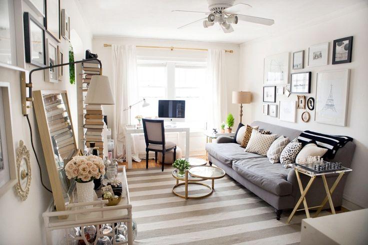 My favorite home tour   Alaina Kaczmarski's Lincoln Park Apartment Tour #theeverygirl