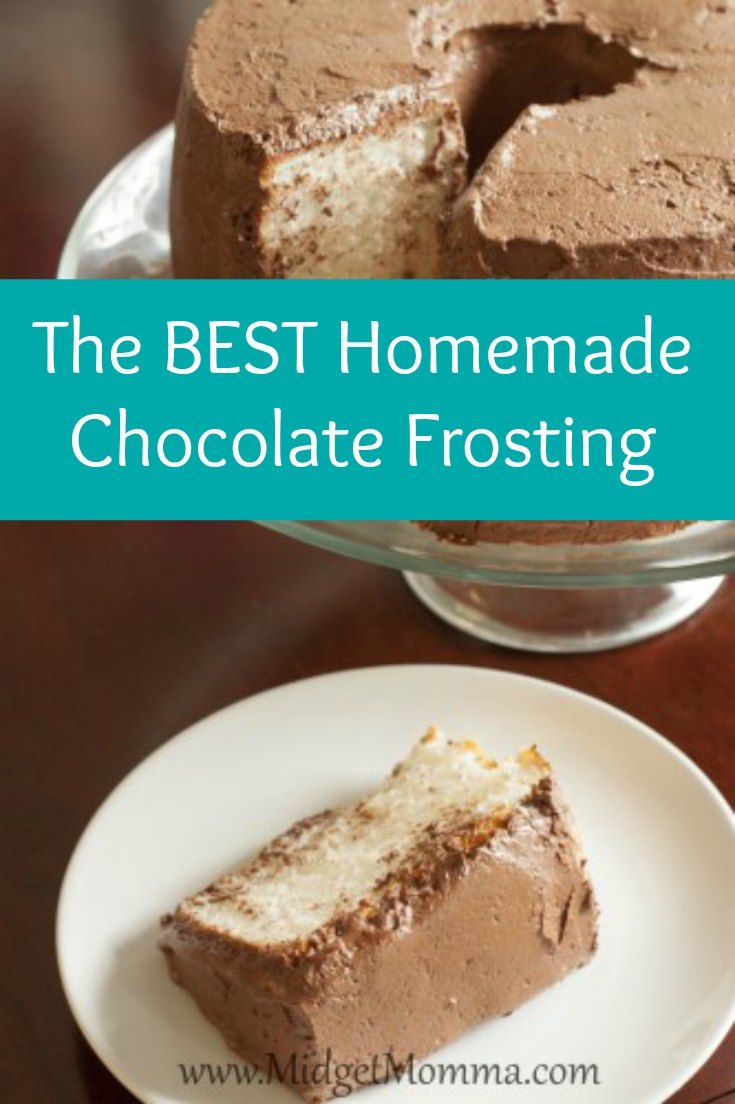 Best 25+ Homemade chocolate frosting ideas on Pinterest | Homemade ...