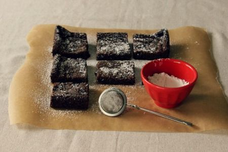 Gluten-free   Vegan Recipe | Almond Butter Gingerbread Slice