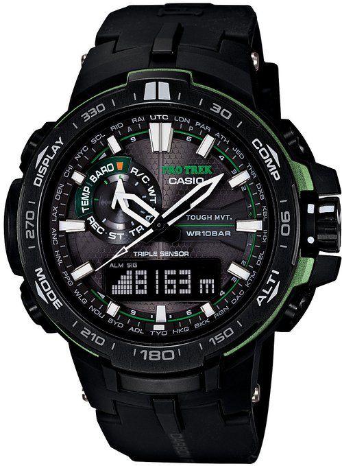 The future of survival. The Casio Protrek watches.
