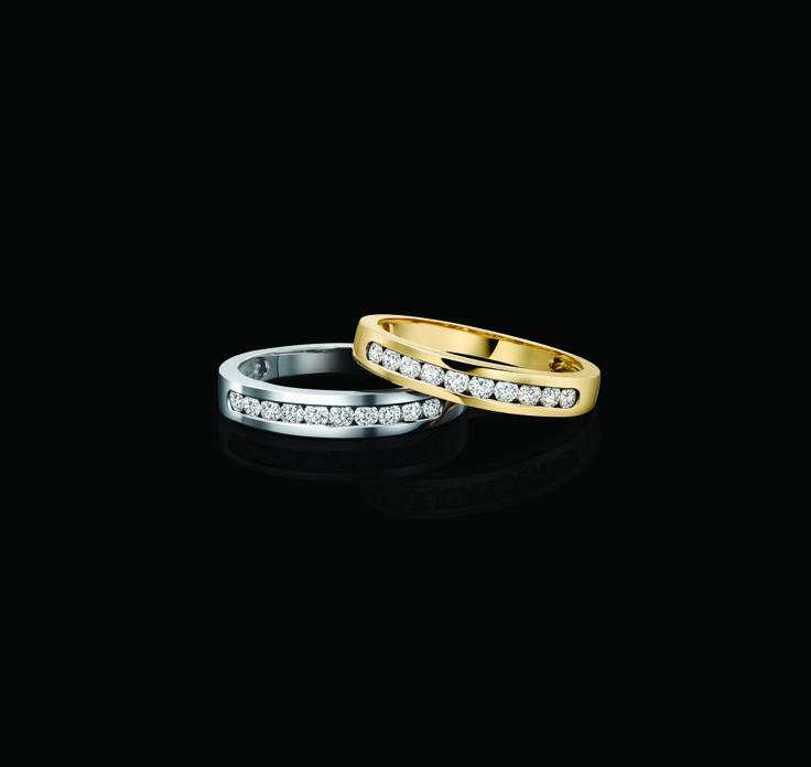 Brilliant cut 0.33 total carat weight diamond eternity ring