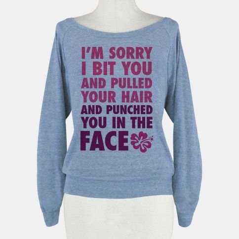 Sorry I Punched You In The Face | HUMAN | T-Shirts, Tanks, Sweatshirts and Hoodies