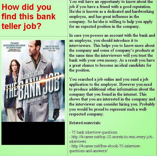 Assistant Manager Interview Questions Interesting Bank Career Careerbank On Pinterest