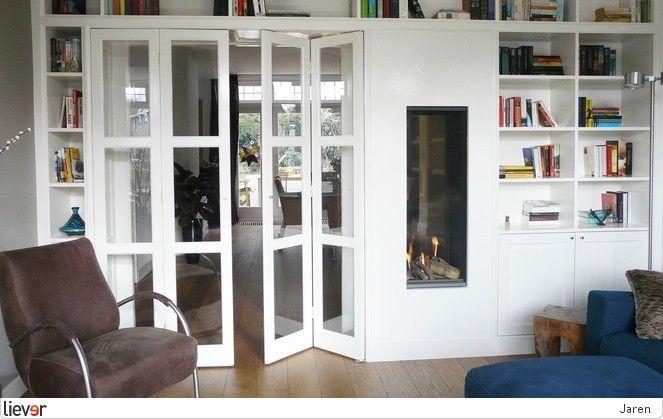 Jaren 30 woning Arnhem - Buro Bogaarts - boekenkasten - inbouwhaarden - interieurarchitecten